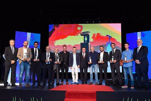 Galardonados de los XXXI Premios de Gastronomía Diario de Avisos