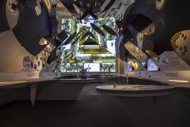 El 'Calidoscopio' es el cuarto espacio de la exposición