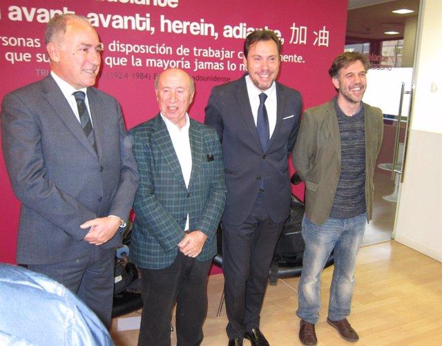 Antonio Gato, 'Peridis', Óscar Puente y Matías Figueroa