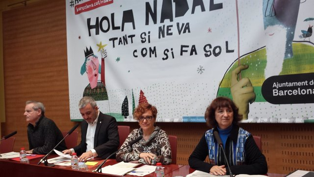 Jaume Collboni, Montserrat Ballarín, Jordi Vila Y Marta Almirall