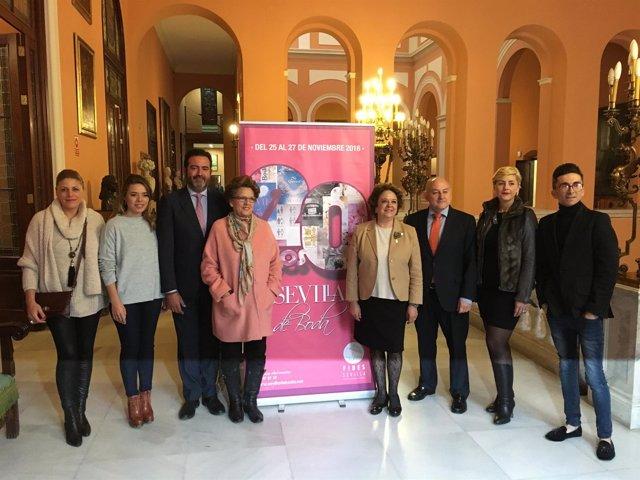 Rueda de prensa del XX aniversario de 'Sevilla de Boda'