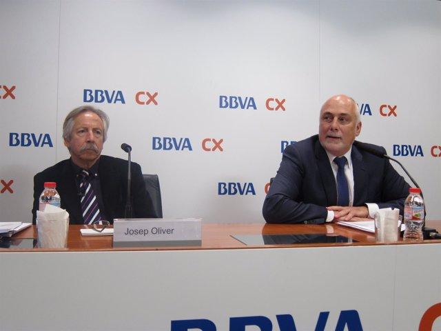 Josep Oliver y Christian Terribas presentan el Anuario económico BBVA CX