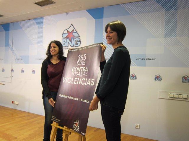 Campaña del BNG con motivo del Día contra la violencia de género