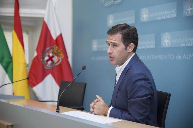 El concejal de Urbanismo de Almería, Miguel Ángel Castellón