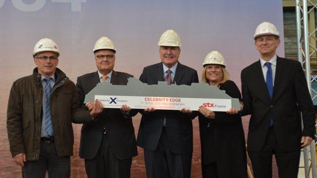 Celebrity Cruises comienza la construcción de su primer Edge