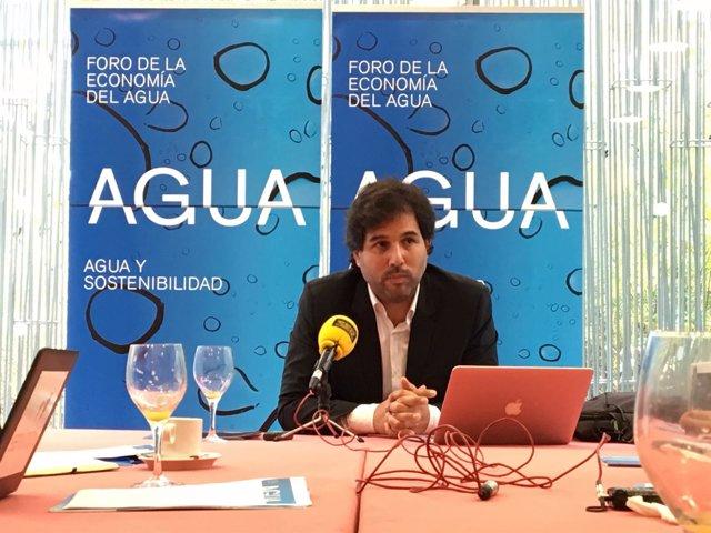 El director académico del Foro de la Economía del Agua, Gonzalo Delacámara,
