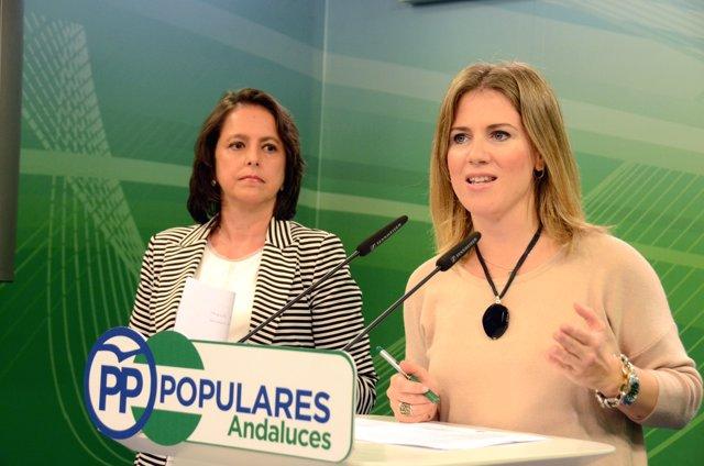 Nota De Prensa, Audio Y Fotos PP Andaluz: Ana Mestre Y Catalina García
