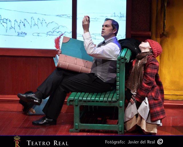La pequeña cerillera, del Teatro Real