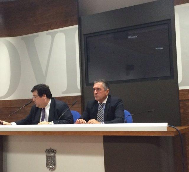 Luis Pacho y Luis Antonio Zaragoza