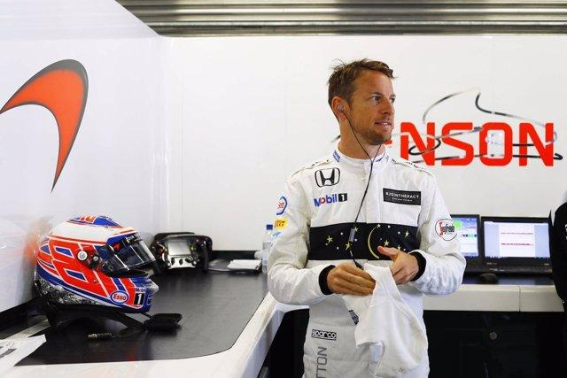 Jenson Button, GP de Rusia 2016