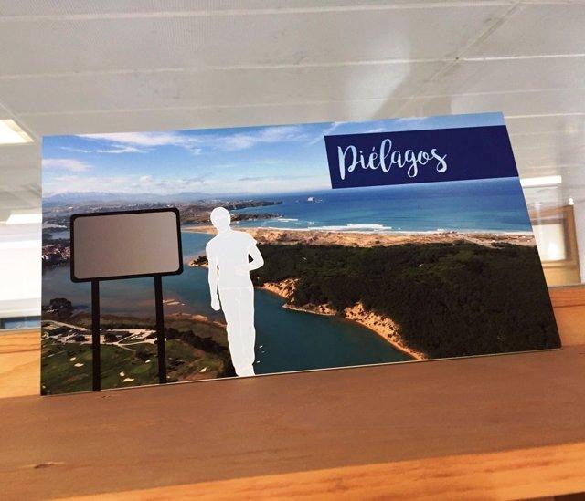 Material promocional de Piélagos