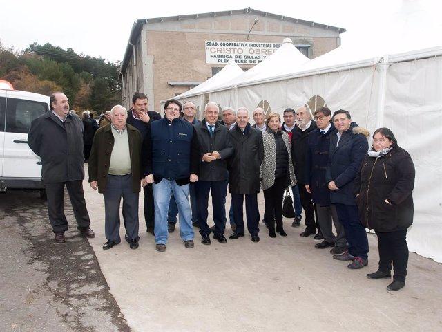 Ceniceros inaugura la empresa Bioenergía