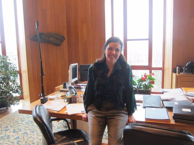 Pilar Rojo, presidenta del Parlamento de Galicia