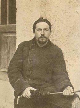 El escritor ruso Anton Chéjov