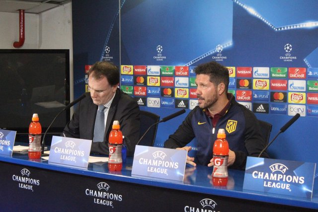Diego Pablo Simeone en rueda de prensa