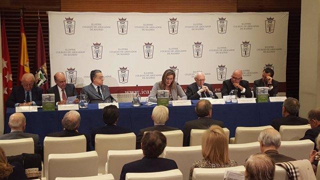 Presentación del cuarto volumen de  'Memoria de la Abogacía Española'