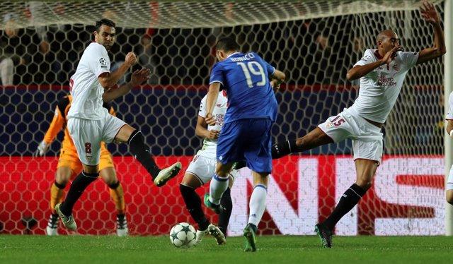 El Sevilla cae con la Juventus