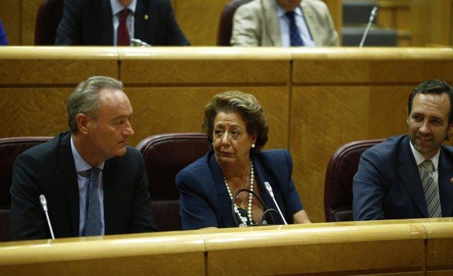María Rita Barberá Nolla y Alberto Fabra