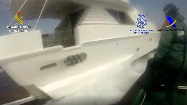Operación antidroga en Melilla.