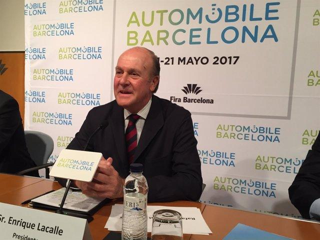 Enrique Lacalle, presidente de Automobile Barcelona