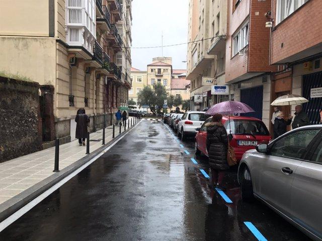 Renovación de la calle Lábaro