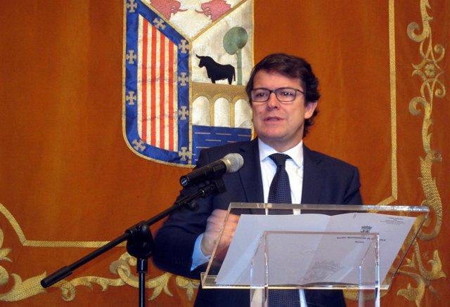 El secretario del PP en CyL, Alfonso Fernández Mañueco.