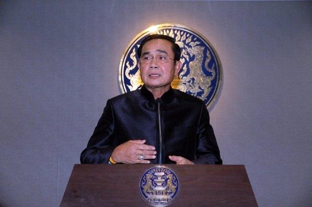 El jefe de la junta mlitar de Tailandia, el general Prayuth Chan Ocha