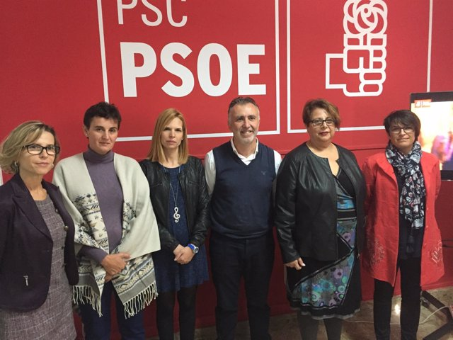 Concejales del PSOE  presentaron un video contra la violencia de género