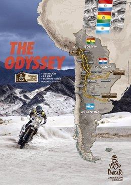Recorrido del Dakar 2017