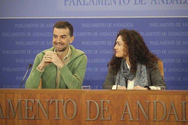 Antonio Maíllo e Inmaculada Crespo, hoy ante los medios