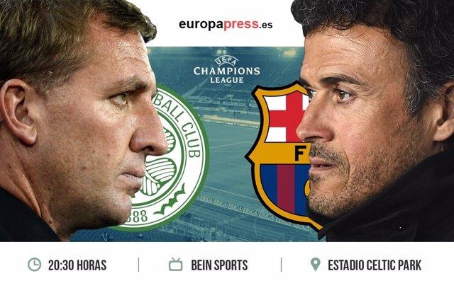 Horario y dónde ver el Celtic de Glasgow – F.C. Barcelona | Fase de grupos Champ