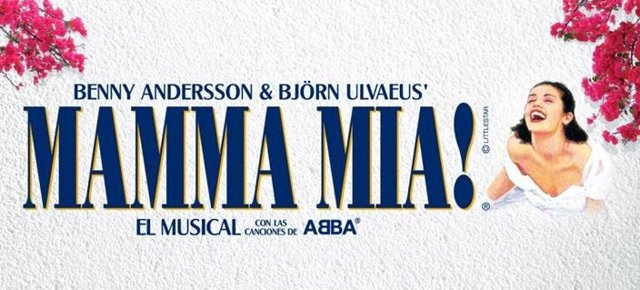 Cartel de Mamma Mia!