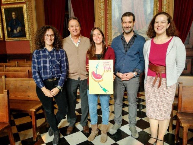 Concurso de carteles para las fiestas de Sant Sebastià 2017