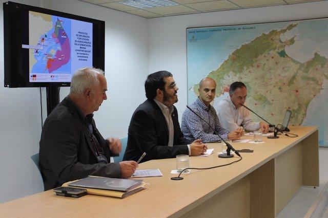 El conseller de Medio Ambiente, Agricultura y Pesca, Vicenç Vidal