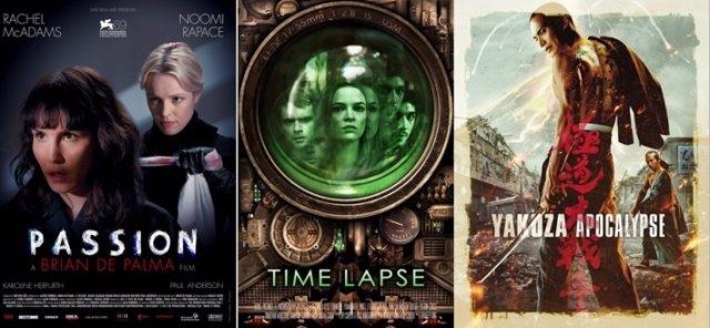 Passion, Time Lapse y Yakuza Apocalypse