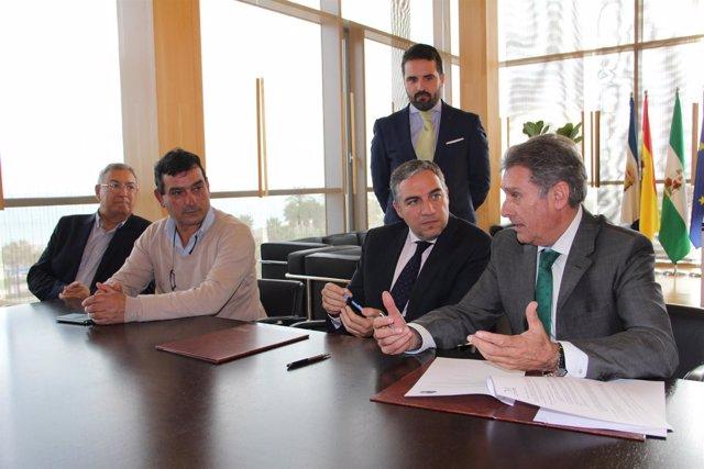 Elías Bendodo diputación de Málaga presidente Adisabes Salvador Perez sabor a má