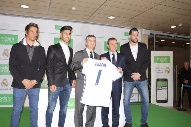 Coentrao, Asensio, José Antonio Martínez, Butragueño y Casilla