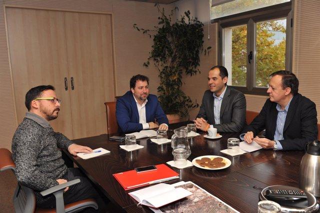 El Alcalde De Rivas Y El Portavoz De Ciudadanos En La Asamblea De Madrid Coincid