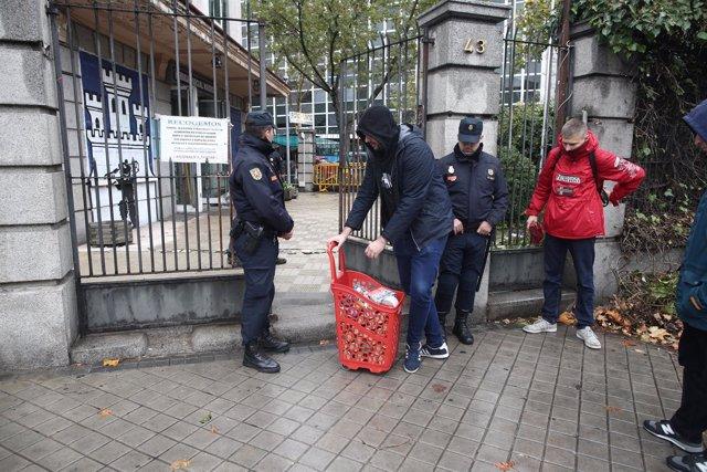 La Policía desaloja a los okupas del colectivo neonazi Hogar Social