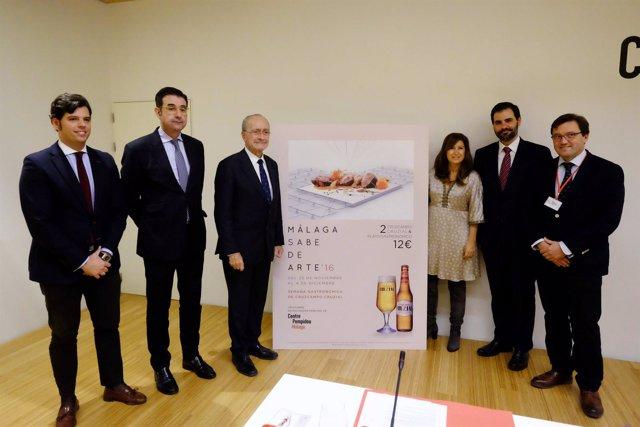 Presentación de la Semana Gastronómica Cruzcampo Cruzial