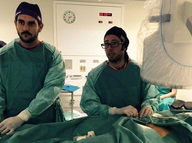 Área de Angiología del Hospital Quirónsalud Marbella.