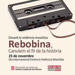 Campaña contra la violencia machista 'Rebobina'