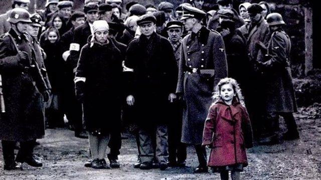 """Oliwia Dabrowska, la niña de rojo en la película """"La lista de Schindler"""""""