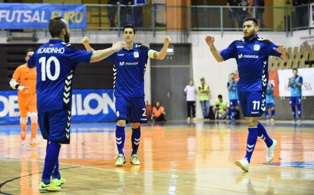 Inter Movistar comienza ganando en la UEFA Futsal Cup