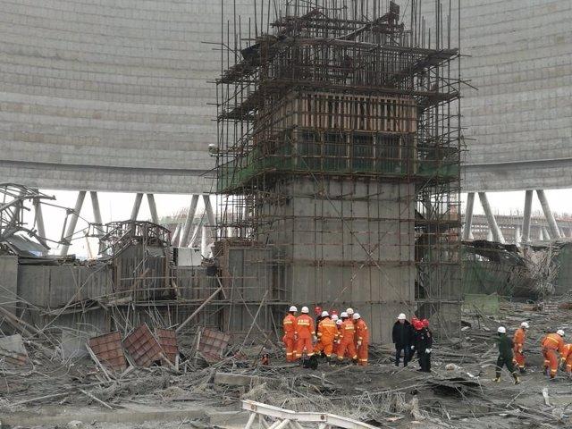 Central eléctrica ubicada en la ciudad de Fengcheng, en el sureste de China