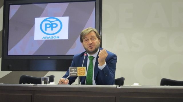 El diputado del PP, Fernando Ledesma