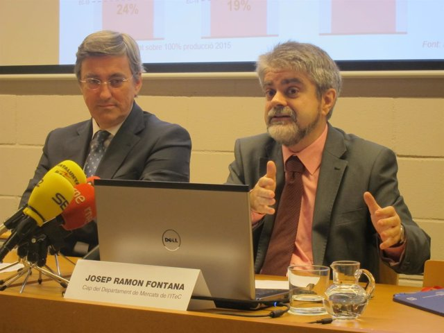 Francisco Diéguez y Josep Ramon Fontana (Itec)