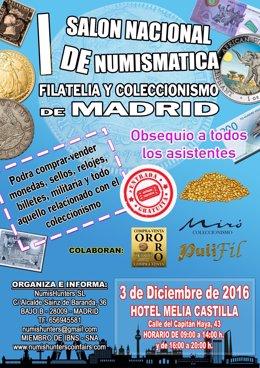 I Salón de Numística, Filatelia y Coleccionismo