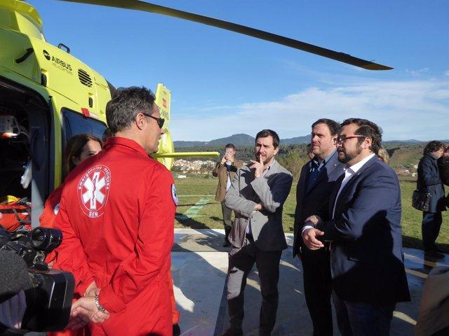 Nuevo helicóptero del SEM