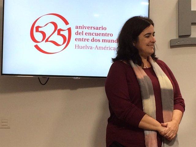 La alcaldesa de Aljaraque, Yolanda Rubio